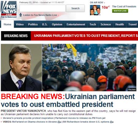 Fox News vs. Yahoo News